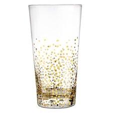Gold Luster 18.6 Oz. Hi-Ball Glass (Set of 4)
