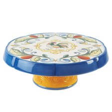 Ricamo Round Cake Chip and Dip Tray