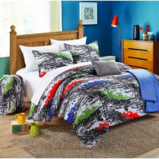 Heroes 4 Piece Twin Comforter Set
