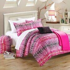 Waves 5 Piece Full/Queen Comforter Set