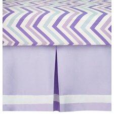 Violet Lavender Dust Ruffle