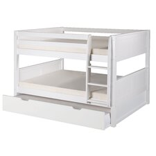 Camaflexi Full Bunk Bed with Twin Trundle