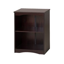 "Essentials Wooden Bookcase 23""Wide - White Finish"