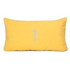 Seahorse Beach Outdoor Sunbrella Lumbar Pillow