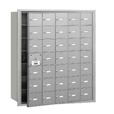 4B+ Horizontal Mailbox 35 Doors Front Loading Private Access