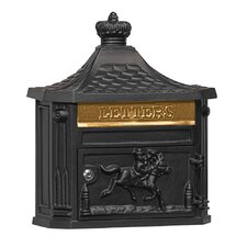 Victorian Wall Mounted Mailbox