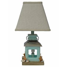 "Coastal 18"" H Table Lamp with Empire Shade"