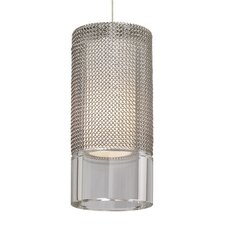 Manchon 1 Light Monopoint Satin Nickel Pendant