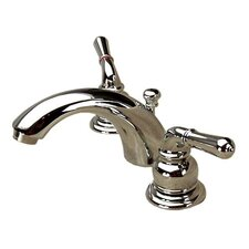 C Spout Widespread Faucet with Deco Lever