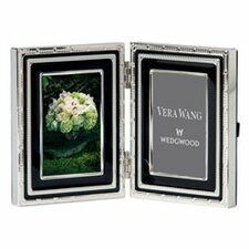 With Love Noir Folding Picture Frame