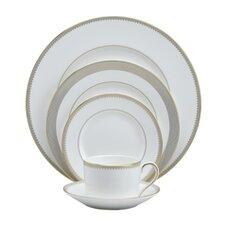 Golden Grosgrain Dinnerware Collection