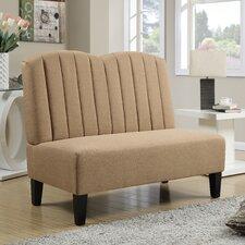 Upholstered Banquette in Hayden Honey
