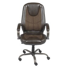 Mid-Back Leather Manager Chair