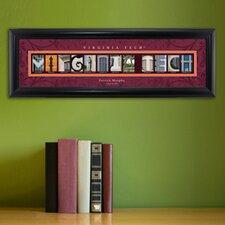Personalized Gift College Campus Framed Memorabilia