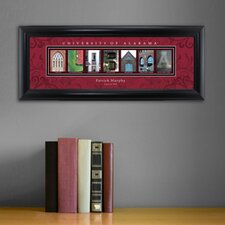 Personalized Gift College Campus Framed Memorabilia
