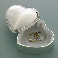 Personalized Gift Heart Accessory Box