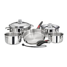 Nestable 10 Piece Cookware Set