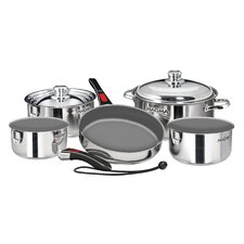 Nestable Induction Cook-Top 10 Piece Cookware Set