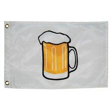 Novelty Design Beer Mug Traditional Flag