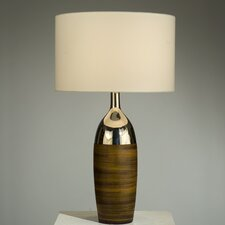 "Martini 28"" H Table Lamp with Drum Shade"