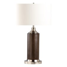 """Cracker 28"""" H Table Lamp with Drum Shade"""
