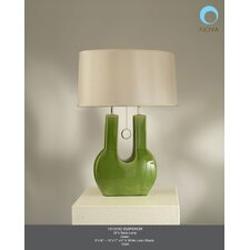 """Emperor 27"""" H Table Lamp with Empire Shade"""