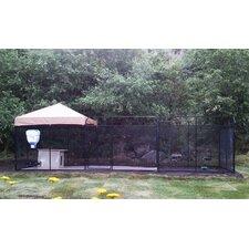 Ultimate Welded Wire Steel Modular Yard Kennel