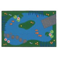 Tranquil Pond Kids Rug