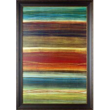 'Organic Layers II' by Jeni Lee Framed Painting Print