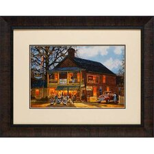 American Made by Dave Barnhouse Framed Painting Print