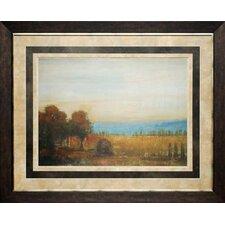Golden Meadow by Liz Jardine Framed Painting Print