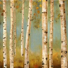 Eco II by Allison Pearce on Painting Print Wrapped Canvas
