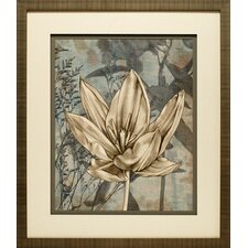 Tulip and Wildflowers VI by Jennifer Goldberger Framed Graphic Art
