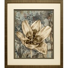 Tulip and Wildflowers VIII by Jennifer Goldberger Framed Graphic Art
