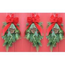 Balsam Holiday Swag (Set of 3)