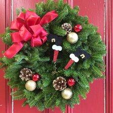 Down the Chimney Wreath