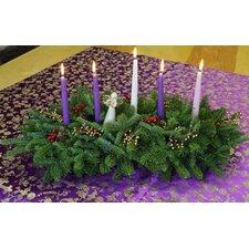 Faith Christmas Grace Advent 5 Candle Centerpiece