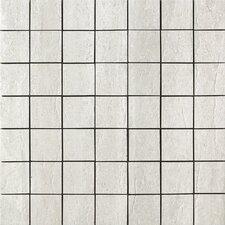 Travertini Porcelain Mosaic Tile in Grey