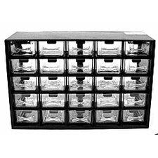 25 Compartment Durable Storage Box