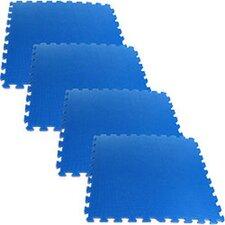 Ultimate Comfort Foam Flooring in Blue (Set of 4)