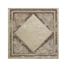 "Forge Deco Tozzetto 1.9"" x 1.9"" Porcelain Tile in Walnut"