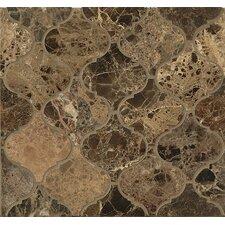 Marble Mosaic Tile in Emperador Dark