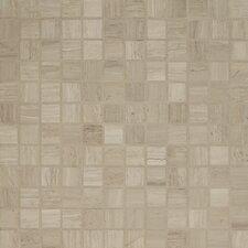"Maison 1"" x 1"" Marble Mosaic Tile in Ashen Grey"