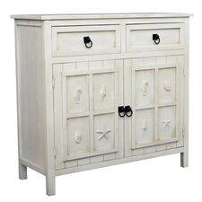 Coastal 2 Drawer Cabinet