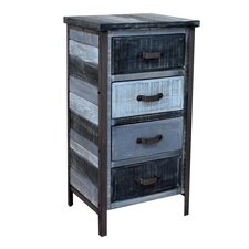 Soho 4 Drawer Accent Chest