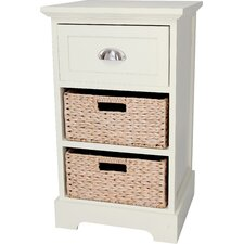 Newport 1 Drawer 2 Basket Chest
