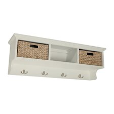 Newport 2 Basket Storage Shelf