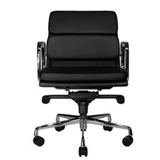 Clyde Low-Back Leather Task Chair