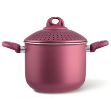 Uniqum Rubino 5-qt. Stock Pot with Lid