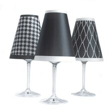 "4.5"" Classic Paper Wine Glass Lamp Shade (Set of 6)"